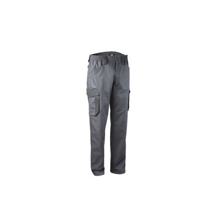 Pantalone Staff Cargo Con Tasche Laterali Diadora Utility Flash Grigio Acciaio