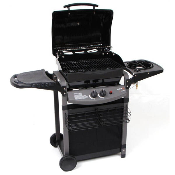Barbecue A Gas Sochef Piùsaporillo 130x53x105cm
