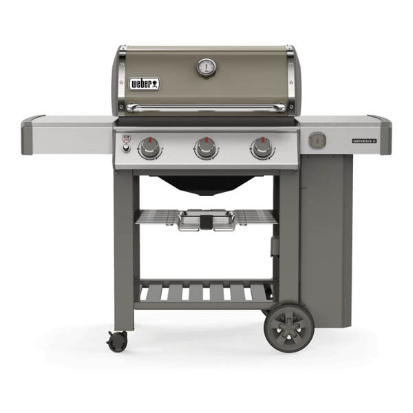 Barbecue A Gas Genesis Ii E 310 Gbs Smoke Gray Weber