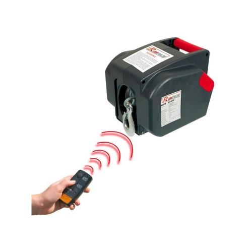 Argano Verricello Elettrico Telecomandato Ribimex Ribitech Pe12v T