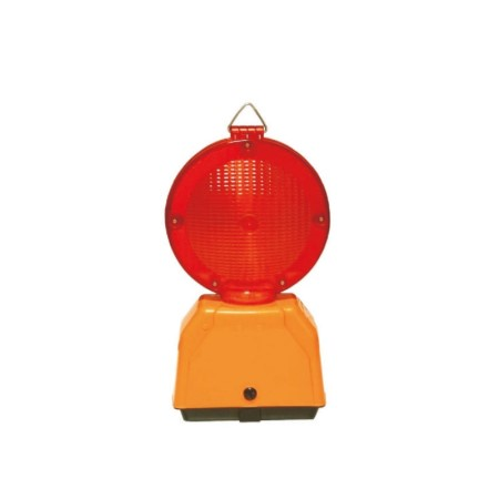 Lampeggiatore Led Euroflash Rosso Bifacciale Fisso Sisas
